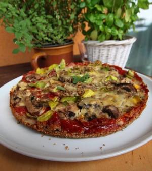 Křupavá pizza - Tichovy dobrotyšmakoun