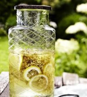 Bezová limonáda - pin