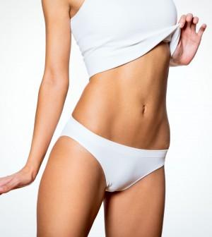23423629 - beautiful slim body of woman in lingerie