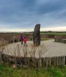 Zkamenělý pastýř u Klobuk - pin