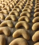 Vanilkové rohlíčky bez ořechů